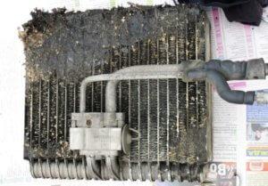 чистка кондиционера логан 2