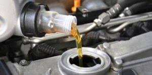 замена масла двигателя логан
