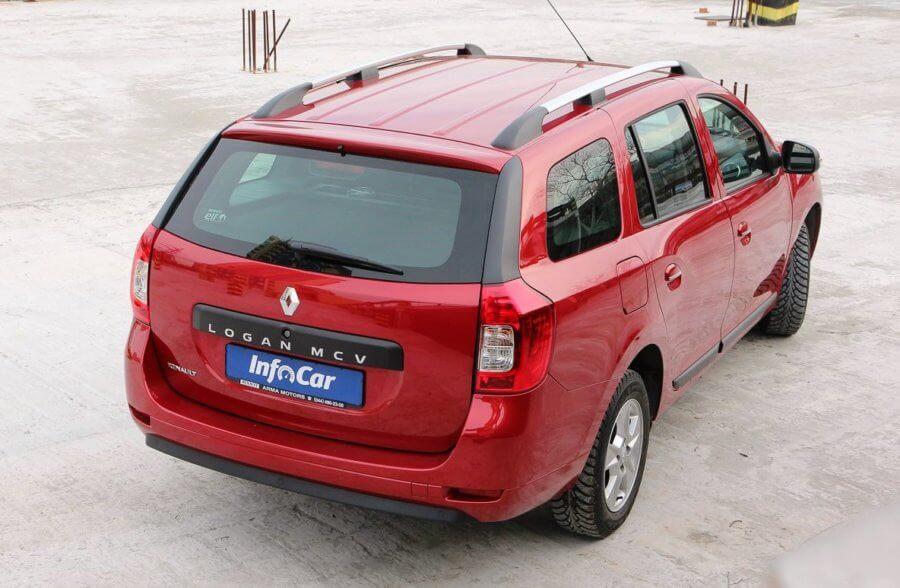 фото сзади Renault (Dacia) Logan MCV