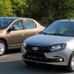 Сравнение Лады Гранты и Рено Логан: сходства и отличия бюджетных авто