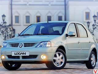 Renault Logan 2004, 2005, 2006, 2007, 2008, седан, 1 поколение технические характеристики и комплектации