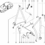 Ремень безопасности для Renault Renault Logan 2005-2014