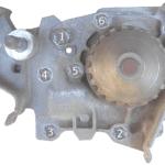 Замена помпы, двигатель k7j Рено Логан |