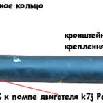 Рено Логан — замена помпы и патрубка в ней видео