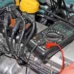 Как проверить высоковольтные провода мультиметром рено логан